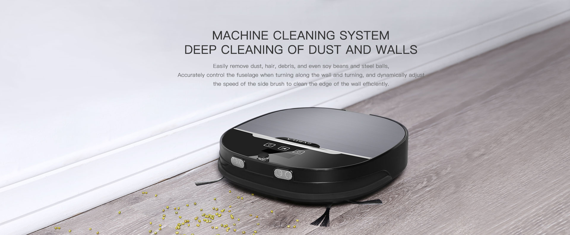 Machine cleaning system Deep cleaning of dust and wall